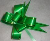 Бант 18мм зелёный