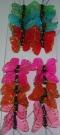 Бабочки перьевые 4см (24шт)