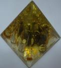 Карандашница пирамидка заяц 10см(пластмасса)