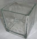 Ваза Квадрат 10см стекло