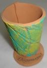 Карандашница керамика 10см