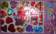 Стикер-наклейки сердца металл