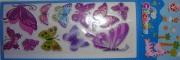 Стикер-наклейки бабочки фиолет