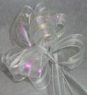 Бант-шар органза 3см (90см) белый