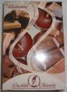 Свеча в гильзе аромат-ная Шоколад (набор 6шт)