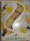 Свеча в гильзе аромат-ная Ваниль (набор 6шт)