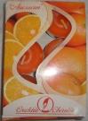 Свеча в гильзе аромат-ная Апельсин (набор 6шт)