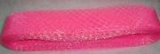 Лента-Сетка 5см/30м розовая