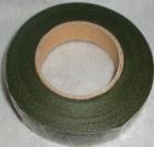 Тейп лента 1см/45м зеленая