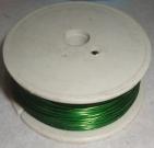 Проволока 0.37мм/50м зелёный
