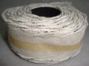 Лента сетка с каркасом 4см/5м белая