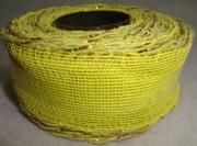 Лента сетка с каркасом 3см/5м салатовая
