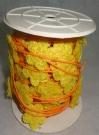 Шнур Сизаль с цветком 10м желтый