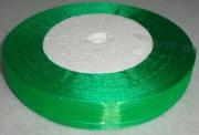 Лента Органза 1.5см/45м зелёная