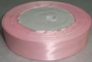 Лента Атласная 2.5см/23м розовая