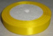 Лента Атласная 1,5см/23м жёлтая