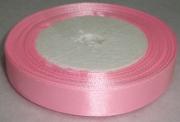 Лента Атласная 1,5см/23м розовая