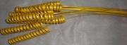 Сухоцвет Пружинка (10шт) 60см жёлтая