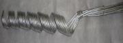 Сухоцвет Завиток малый (10шт) 60см серебро