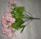Букет Гортензии 50см розовый