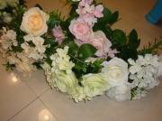 Букет Роза с гортензией 35см